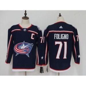 Columbus Blue Jackets Nick Foligno #71 Jersey